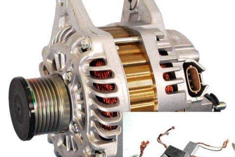Электрические щетки генератора